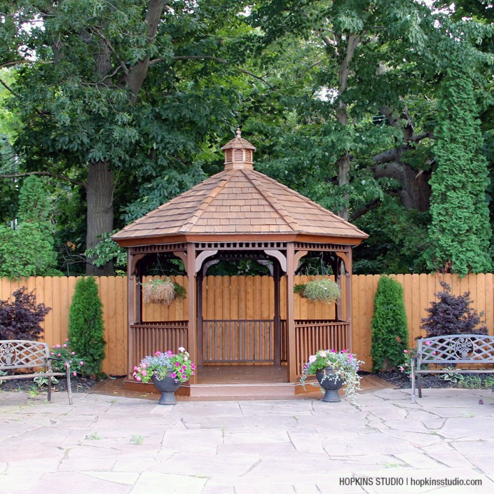The Country House gazebo