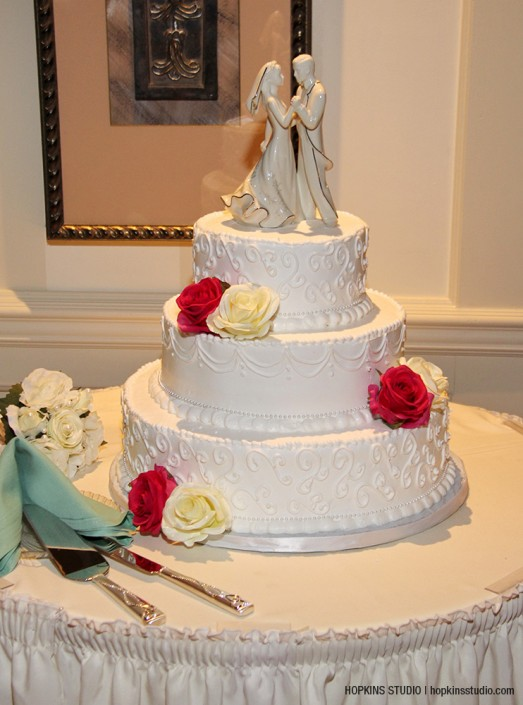 Country House wedding cake